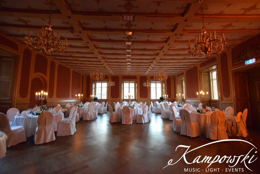 Festsaal Schloss | vorher