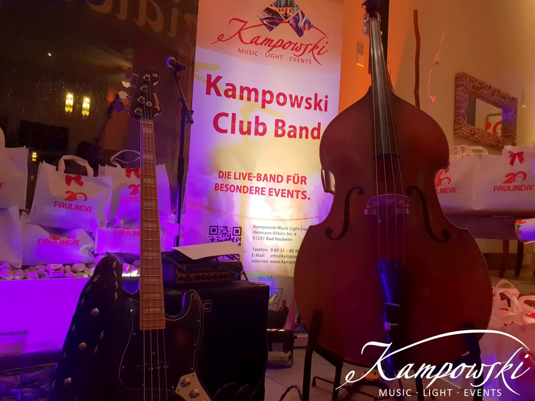 Kampowski - Club Band in Frankfurt