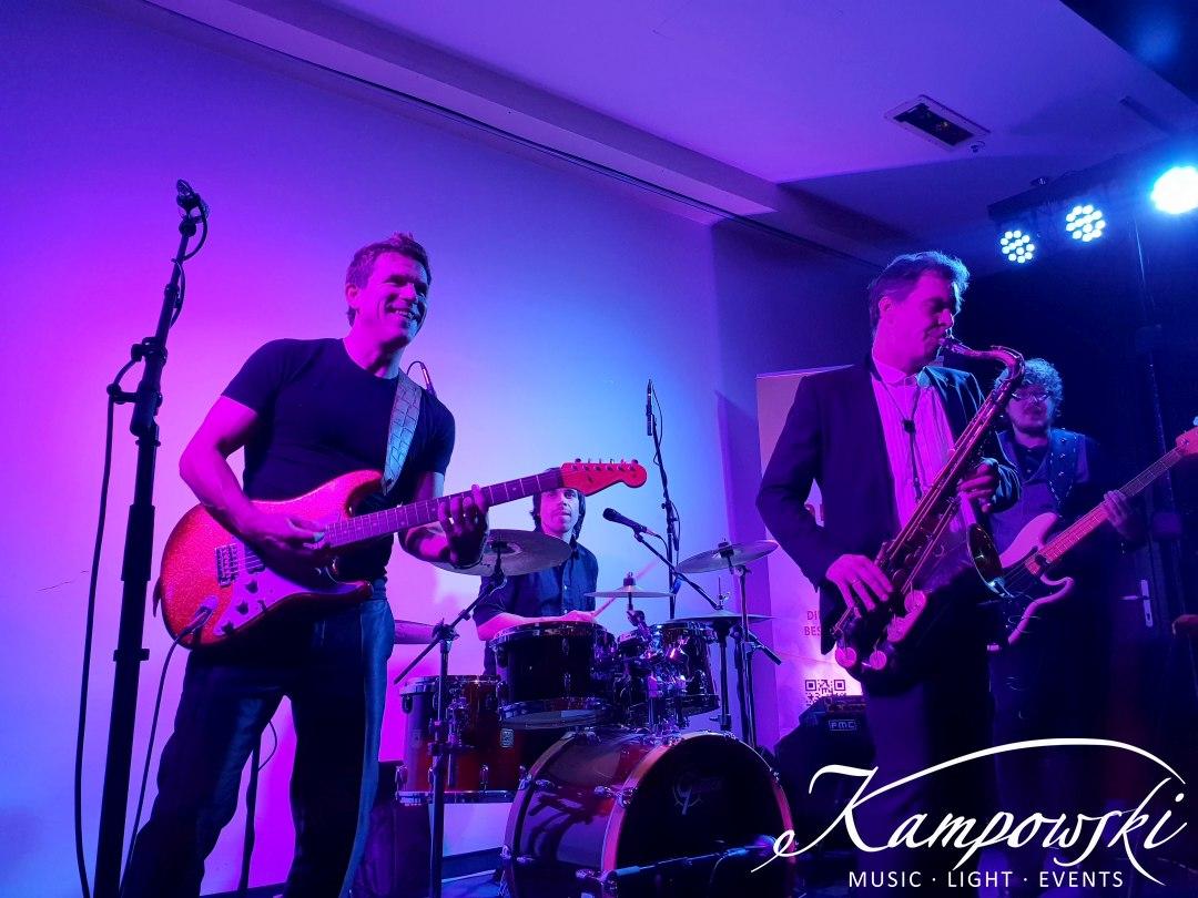 Kampowski - Club Band im Frankfurter Hof