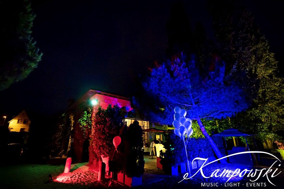 Illumination Hochzeit Pfalz